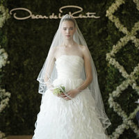 Wedding Dresses, Ball Gown Wedding Dresses, Ruffled Wedding Dresses, Fashion, Strapless Wedding Dresses, Oscar de la renta