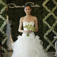 Wedding Dresses, Sweetheart Wedding Dresses, Ball Gown Wedding Dresses, Ruffled Wedding Dresses, Fashion, Oscar de la renta