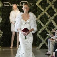 Wedding Dresses, Sweetheart Wedding Dresses, Mermaid Wedding Dresses, Hollywood Glam Wedding Dresses, Fashion, Winter Weddings, Glam Weddings, Oscar de la renta, Wedding Dresses with Jackets