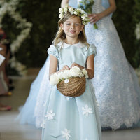 Flower Girl Dresses, Fashion, blue, Oscar de la renta