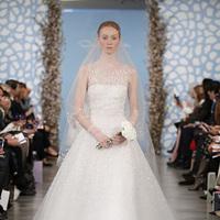 Wedding Dresses, Illusion Neckline Wedding Dresses, A-line Wedding Dresses, Vintage Wedding Dresses, Traditional Wedding Dresses, Fashion, Classic Weddings, Oscar de la renta