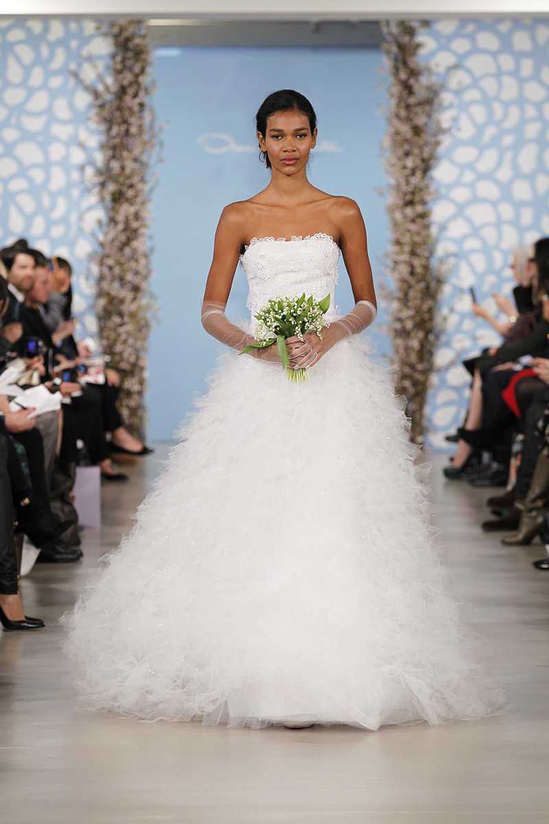 Wedding Dresses, Ball Gown Wedding Dresses, Ruffled Wedding Dresses, Fashion, Oscar de la renta