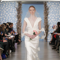 Wedding Dresses, Fashion, Glam Weddings, V-neck Wedding Dresses, Oscar de la renta, Art Deco Weddings