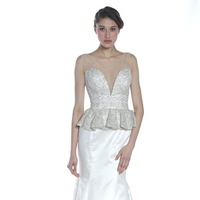 Wedding Dresses, Illusion Neckline Wedding Dresses, Mermaid Wedding Dresses, Hollywood Glam Wedding Dresses, Fashion, Glam Weddings, Olia zavozina