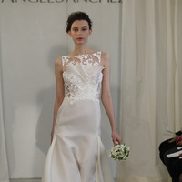 Wedding Dresses, Illusion Neckline Wedding Dresses, Lace Wedding Dresses, Fashion, Modern Weddings, Angel sanchez