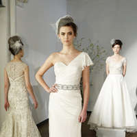 Wedding Dresses, One-Shoulder Wedding Dresses, Hollywood Glam Wedding Dresses, Fashion, Glam Weddings, Kelly Faetanini
