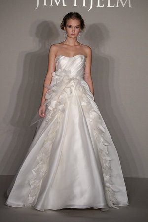 Wedding Dresses, Sweetheart Wedding Dresses, A-line Wedding Dresses, Ruffled Wedding Dresses, Romantic Wedding Dresses, Fashion, Spring Weddings, Garden Weddings, Jim hjelm