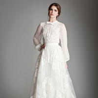 Wedding Dresses, A-line Wedding Dresses, Romantic Wedding Dresses, Vintage Wedding Dresses, Fashion, Wedding Dresses with Sleeves, Temperley London