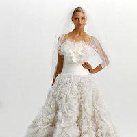 Wedding Dresses, A-line Wedding Dresses, Ruffled Wedding Dresses, Romantic Wedding Dresses, Fashion, Modern Weddings, Marchesa