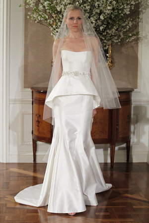 Wedding Dresses, A-line Wedding Dresses, Fashion, Peplum Wedding Dresses