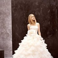 Wedding Dresses, A-line Wedding Dresses, Ruffled Wedding Dresses, Fashion, halter wedding dresses