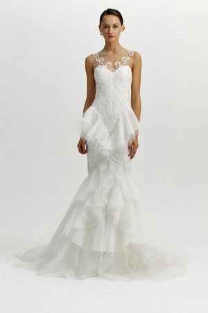 Wedding Dresses, Sweetheart Wedding Dresses, Illusion Neckline Wedding Dresses, Mermaid Wedding Dresses, Hollywood Glam Wedding Dresses, Fashion, Marchesa