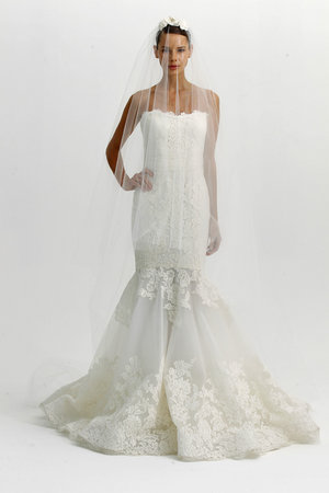 Wedding Dresses, Mermaid Wedding Dresses, Fashion, Marchesa