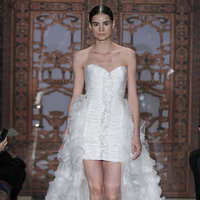 Wedding Dresses, Sweetheart Wedding Dresses, Ruffled Wedding Dresses, Fashion, Short Wedding Dresses