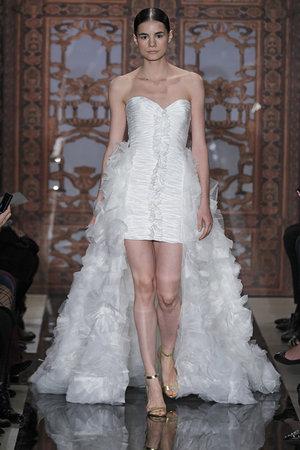 Wedding Dresses, Sweetheart Wedding Dresses, Ruffled Wedding Dresses, Fashion, Short Wedding Dresses