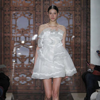 Wedding Dresses, Ruffled Wedding Dresses, Fashion, Short Wedding Dresses