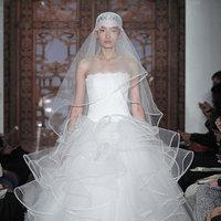Wedding Dresses, Ball Gown Wedding Dresses, Fashion, ruffled wedding dressed