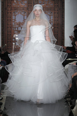 Wedding Dresses, Ball Gown Wedding Dresses, Fashion, ruffled wedding dressed