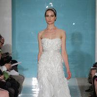 Wedding Dresses, Romantic Wedding Dresses, Fashion, Strapless Wedding Dresses, Reem acra