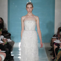 Wedding Dresses, Ruffled Wedding Dresses, Hollywood Glam Wedding Dresses, Fashion, Glam Weddings, Strapless Wedding Dresses, Reem acra, Art Deco Weddings