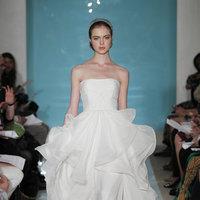 Wedding Dresses, Ball Gown Wedding Dresses, Ruffled Wedding Dresses, Romantic Wedding Dresses, Fashion, Modern Weddings, Strapless Wedding Dresses, Reem acra