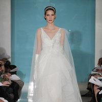 Wedding Dresses, Hollywood Glam Wedding Dresses, Fashion, Glam Weddings, V-neck Wedding Dresses, Reem acra, Art Deco Weddings