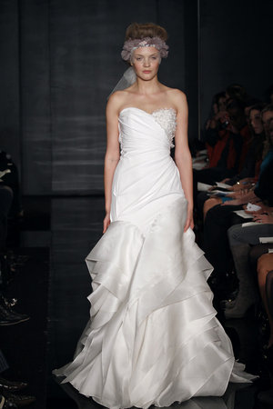 Wedding Dresses, Sweetheart Wedding Dresses, Fashion, white, Reem acra, Beaded Wedding Dresses