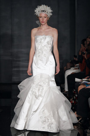 Wedding Dresses, Mermaid Wedding Dresses, Fashion, white, Reem acra