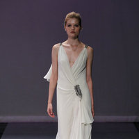 Wedding Dresses, A-line Wedding Dresses, Fashion, V-neck Wedding Dresses