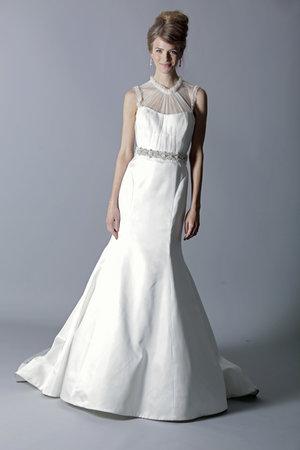 Wedding Dresses, Illusion Neckline Wedding Dresses, Mermaid Wedding Dresses, Fashion, Rivini