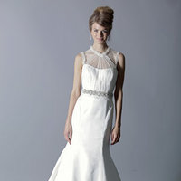 Wedding Dresses, Illusion Neckline Wedding Dresses, Mermaid Wedding Dresses, Fashion, Rivini