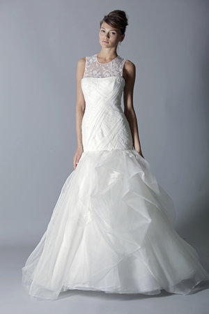 Wedding Dresses, Illusion Neckline Wedding Dresses, Romantic Wedding Dresses, Fashion, Rivini
