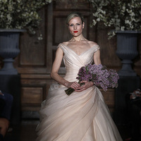 Wedding Dresses, Ball Gown Wedding Dresses, Traditional Wedding Dresses, Fashion, pink, Spring Weddings, Classic Weddings, Romona keveza, Off the Shoulder Wedding Dresses