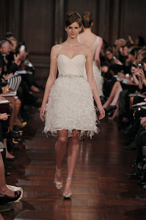 Wedding Dresses, Fashion, Romona keveza, Short Wedding Dresses