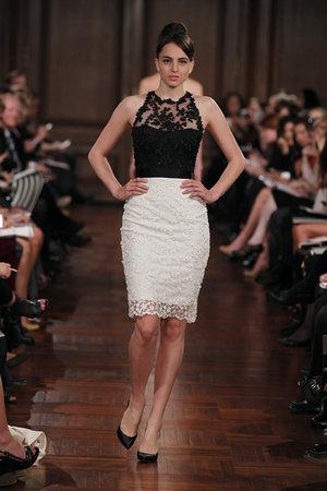 Bridesmaids Dresses, Fashion, white, black, Romona keveza, Short Wedding Dresses