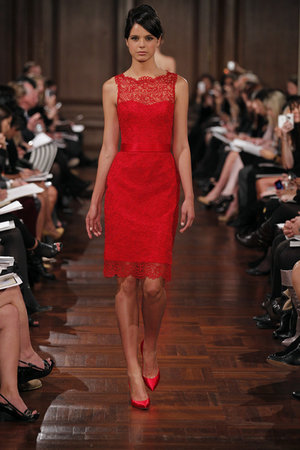 Bridesmaids Dresses, Lace Wedding Dresses, Fashion, red, Lace, Romona keveza, short dresses