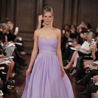 Bridesmaids Dresses, Fashion, purple, Periwinkle, Lavendar, Romona keveza