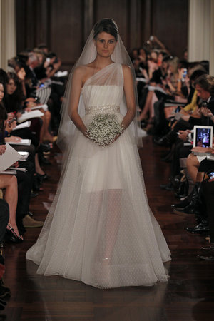 One-Shoulder Wedding Dresses, Romantic Wedding Dresses, Fashion, white, Romona keveza