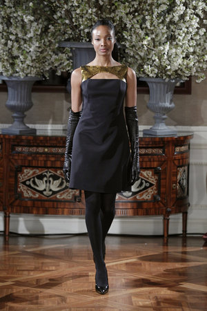 Fashion, black, gold, Glam Weddings, Modern Weddings, Romona Keveza Couture