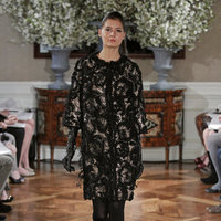 Fashion, black, Vintage Weddings, Romona Keveza Couture