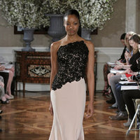 Fashion, pink, black, Glam Weddings, Modern Weddings, Romona Keveza Couture