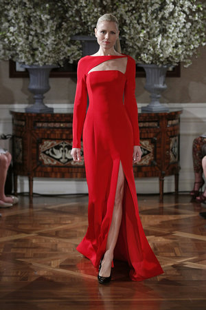Fashion, red, Glam Weddings, Modern Weddings, Romona Keveza Couture