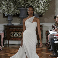 Wedding Dresses, One-Shoulder Wedding Dresses, Beach Wedding Dresses, Hollywood Glam Wedding Dresses, Fashion, Beach Weddings, Glam Weddings, Romona Keveza Couture
