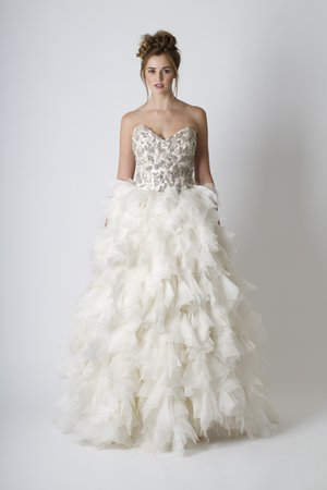 Wedding Dresses, Sweetheart Wedding Dresses, Ball Gown Wedding Dresses, Ruffled Wedding Dresses, Hollywood Glam Wedding Dresses, City Weddings, Glam Weddings, Sareh Nouri