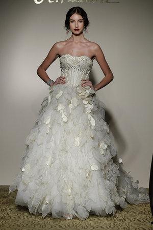 Ruffled Wedding Dresses, Fashion, St. Pucchi