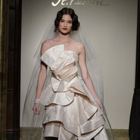 Ruffled Wedding Dresses, Fashion, Short Wedding Dresses, St. Pucchi