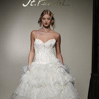 Fashion, St. Pucchi, Ruffled Wedding Gowns