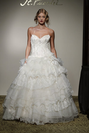 Fashion, St. Pucchi, Ruffled Wedding Gowns