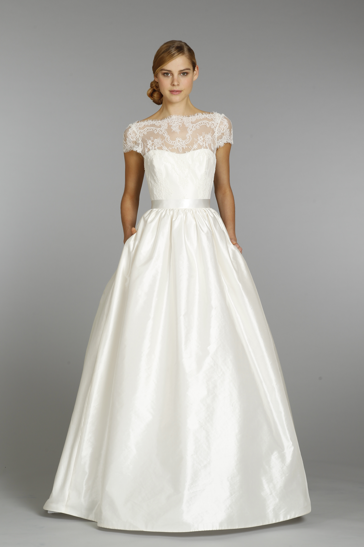 Wedding Dresses, Illusion Neckline Wedding Dresses, A-line Wedding Dresses, Lace Wedding Dresses, Romantic Wedding Dresses, Vintage Wedding Dresses, Fashion, Vintage Weddings, Tara Keely