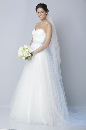 Wedding Dresses, Sweetheart Wedding Dresses, A-line Wedding Dresses, Romantic Wedding Dresses, Fashion, blue, Theia